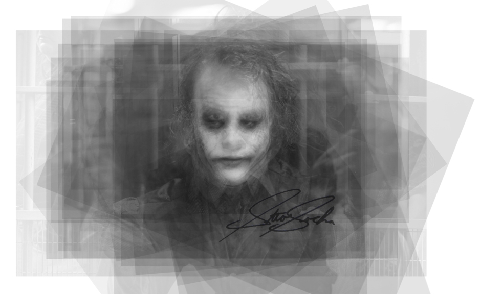 heath ledger joker overlay