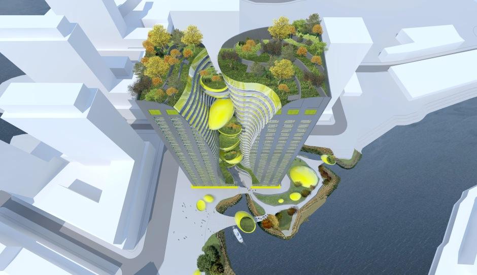 Living Cities - Look-down