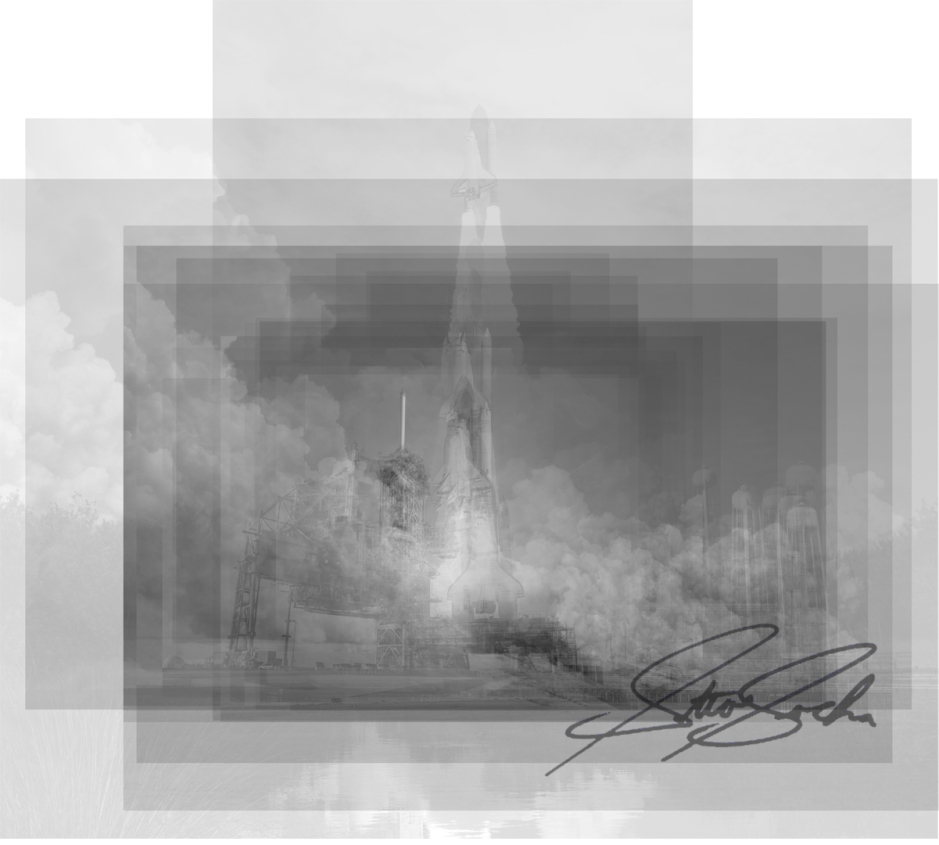 space shuttle overlay