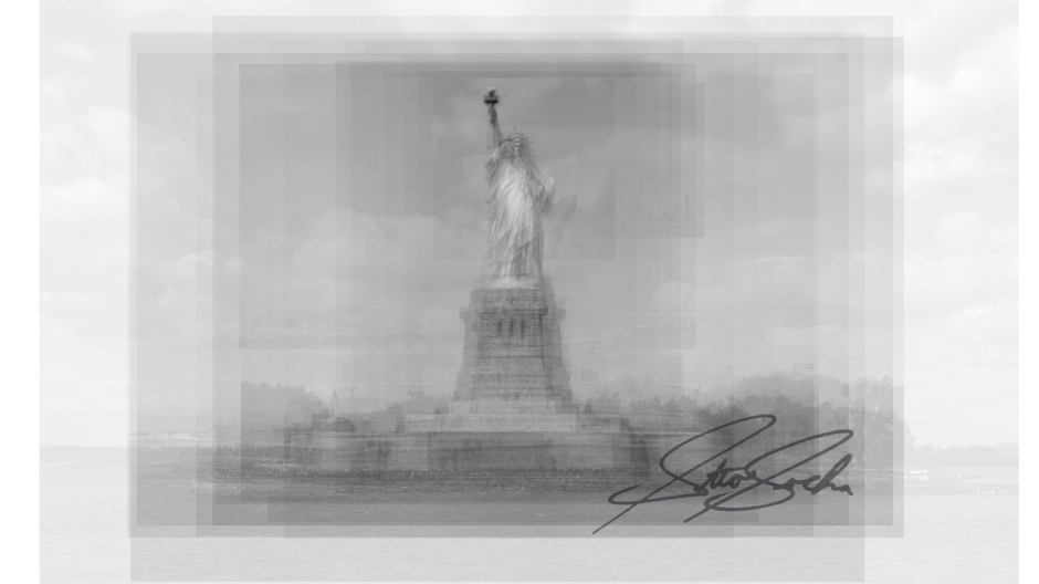 statue of liberty overlay